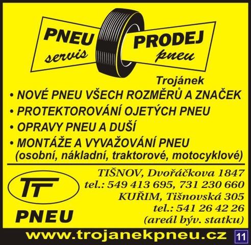 Výsledek obrázku pro Pneuservis Pavel Trojánek logo